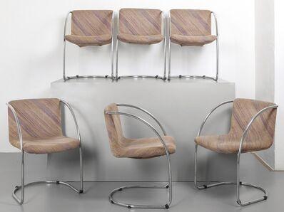 Giovanni Offredi, 'Six small armchairs for SAPORITI ITALIA 70s.'