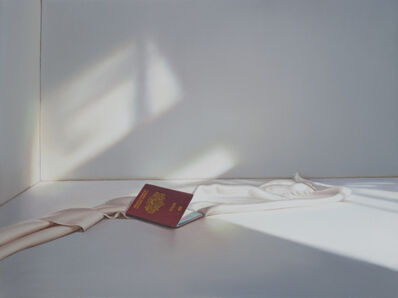 Edite Grinberga, 'Passport With White', 2017