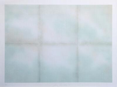Joe Goode, 'Blue folded clouds', 1971