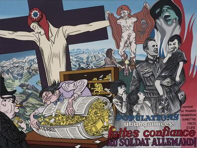 Erró, 'Russian Political Propaganda', 1976