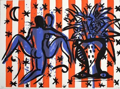 Stefan Szczesny, 'Lovers with Flowers', 1990-2000