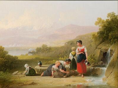Joshua Shaw, 'At the Spring ', 1849