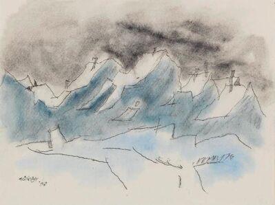 Lyonel Feininger, 'Snow', 1949