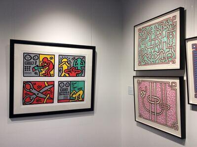 Keith Haring, 'Pop Shop Quad III', 1989