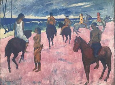 Paul Gauguin, 'HORSES ON THE BEACH', ca. 2000