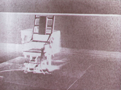 Andy Warhol, ' Electric Chair (FS II.78)', 1971