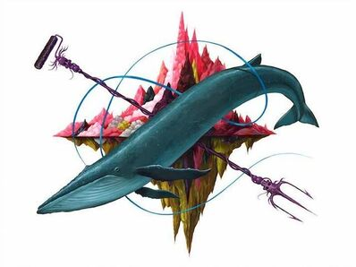 Jeff Soto, 'The Blue Whale', 2013
