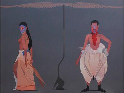 Surendran Nair, 'Pheasant and a Gobbler'
