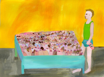 Alexandra Lakin, 'Bosom Bed', 2013
