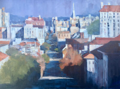 Carole Rafferty, 'Towards Downtown from Pacific Heights', 2018