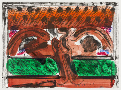 Howard Hodgkin, 'DH in Hollywood', 1979-1985