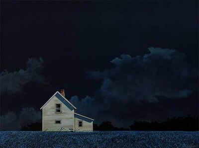BRUCE CASCIA, 'Night Clouds', 2019