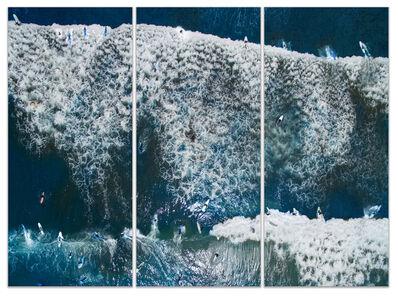 Albert Delamour, 'SURFING 1 (triptych)', 2017