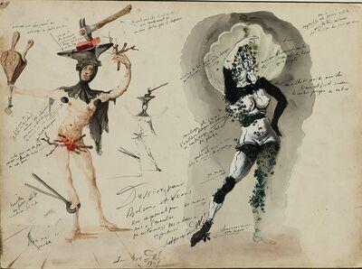 Salvador Dalí, 'Vulcain et Vénus', 1941