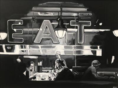 Angela Wakefield, 'American Diner Monochrome ', 2012