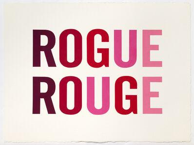 Kay Rosen, 'Rogue Rouge', 2019