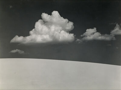 Edward Weston, 'White Sands.', 1970s