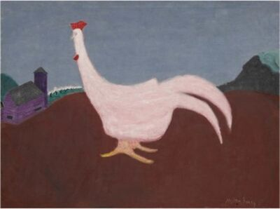 Milton Avery, 'Pink Cock', 1943