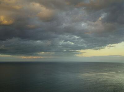 Donald Weber, 'Gold Beach - October 18, 2014, 8:48pm. 18ºC, 88% RELH, Wind S, 8 Knots. VIS: Fair, Overcast Clouds, Thunderstorms', 2014