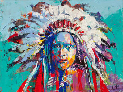 Voka, '01 Native American', 2019