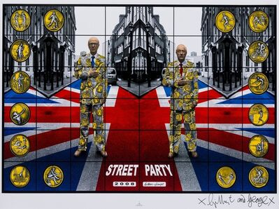 Gilbert and George, 'Street Party', 2008