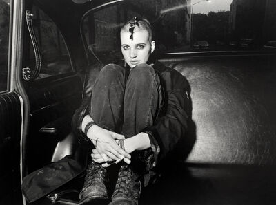 Ryan Weideman, 'Punk Donna in Boots and Backseat', 1982