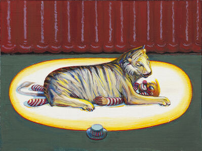 Wayne Thiebaud, 'Beast and Clown', 2018-2019