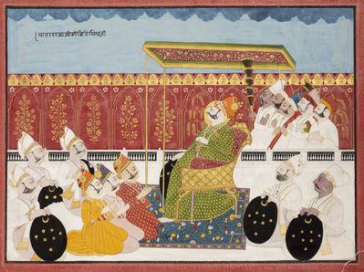 India, Mewar, 'Raja in Audience', 19th century