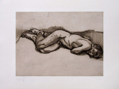 Lucian Freud, 'Naked Man on a Bed', 1987