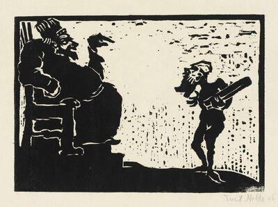 Emil Nolde, 'König und Narr', 1906