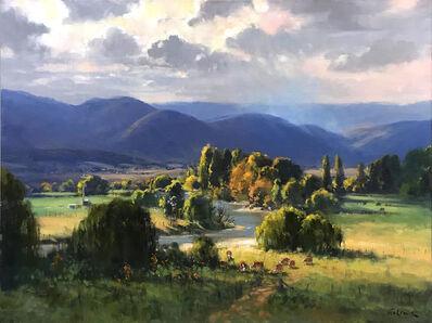 Ted Lewis, 'Autumn Skies', 2019