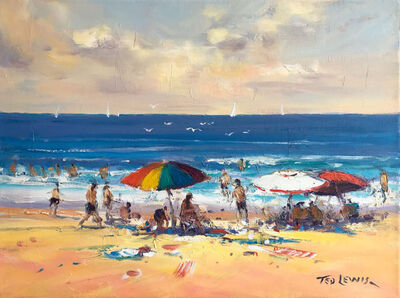 Ted Lewis, 'Colour at the Beach'