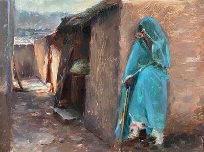 Suchitra Bhosle, 'The Udaipuri Goat Herder'