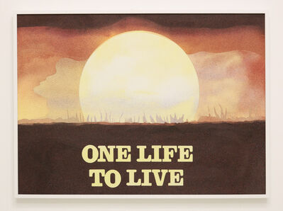 Cynthia Talmadge, 'One Life to Live', 2018