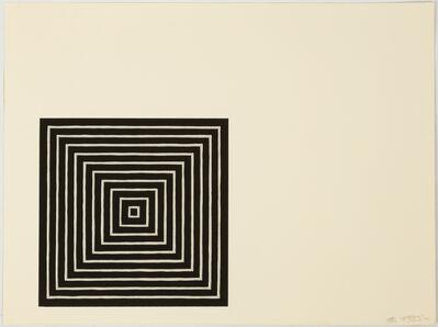 Frank Stella, 'Frank Stella 'Angriff' 1971 Screenprint', 1971