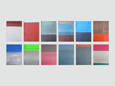 Daniel Göttin, 'Untitled 1-12 2017', 2017