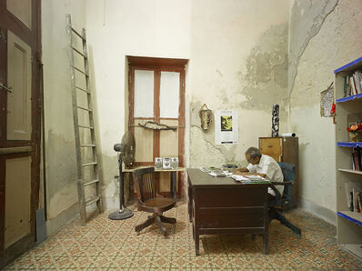 David Burdeny, 'Office, Havana, Cuba', 2014