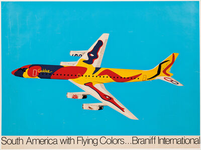 Alexander Calder, 'South America with Flying Colors...Braniff International', 1976