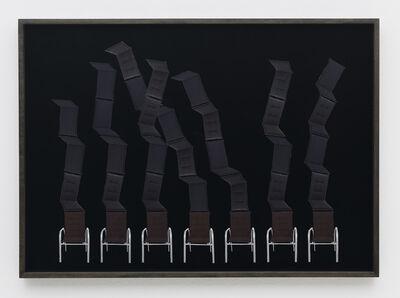 Haegue Yang, 'Hardware Store Collage – Hellweg Outdoor Furniture Cushions # 1', 2013