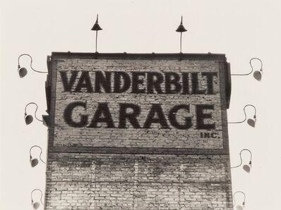 Ralph Steiner, 'Vanderbilt Garage', 1924
