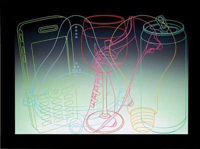 Michael Craig-Martin, 'Signs of Life', 2006