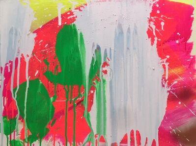 Ushio Shinohara, 'White, Red and Green', 2018