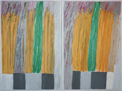 Robert Solomon, 'abstract diptych 1a13', 2017
