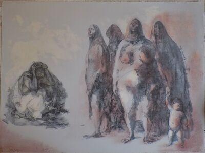 Francisco Zúñiga, 'Mujeres de Mexico', 1973