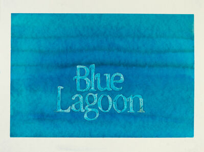 Laura Hindmarsh, 'The Portals (Blue Lagoon)', 2021