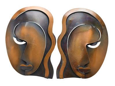 Francisco Rebajes, 'Francisco Rebajes Female Masks', 20th c.