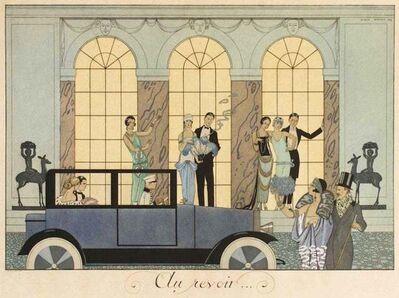 George Barbier, 'Au Revoir', 1920