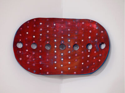 Joyce Robins, 'Red Blue Oval', 2005