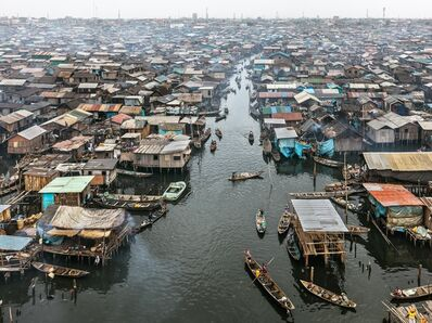 Edward Burtynsky, 'Makoko #2, Lagos, Nigeria', 2016