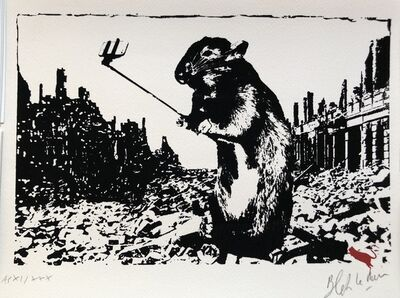 Blek le Rat, 'After The Apocalypse - Artist Proof out of 30', 2017